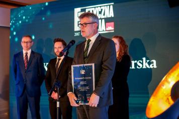 Kompania Piwowarska with the 2017 Ethical Company title