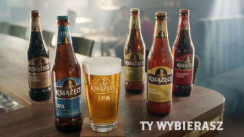 Książęce IPA promoted with a TV spot