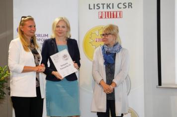 Listek CSR Polityki kolejny raz dla Kompanii Piwowarskiej