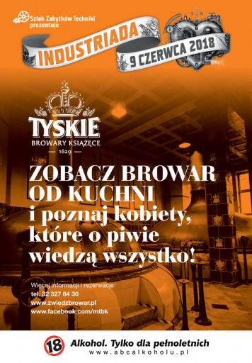 Beer is female – Industriada at Tyskie Browary Książęce