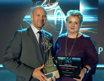"""Kompania Piwowarska honoured with """"Safe Fleet"""" award for its comprehensive activities aimed at improvement of road safety"""