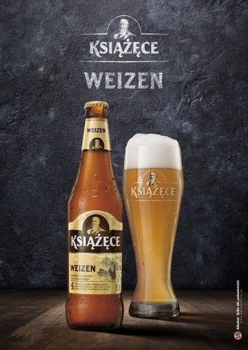 Novelty among specialities – iconic wheat beer enters Książęce's collection