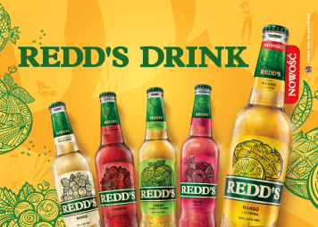 Redd's Mango & Lemon – new, exotic flavour in our flavoured beer collection