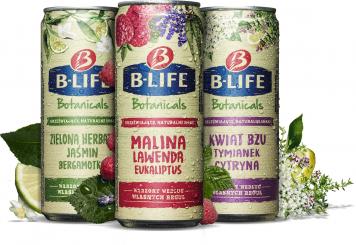 Sięgnij po swoją prawdziwą naturę!  Kompania Piwowarska wprowadza na rynek innowacyjny warzony napój botaniczny: B-Life  Botanicals.
