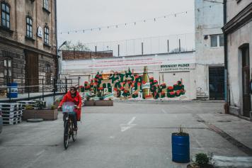 Oryginalny pilzner z czeskiego Pilzna na ulicach polskich miast!