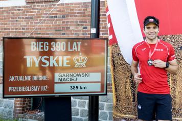 390 kilometrów na 390 urodziny Tyskich Browarów Książęcych