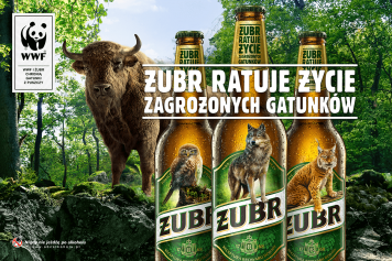 Żubr disappears from labels... replaced by endangered species