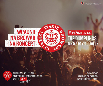 POP IN FOR A BEER AND ENJOY A CONCERT AT TYSKIE BROWARY KSIĄŻĘCE