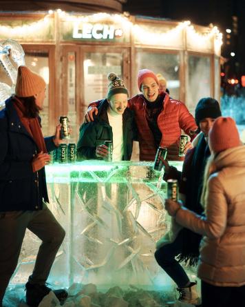 Leszek przełamuje lody! Wystartował zimowy spot telewizyjny marki Lech Premium