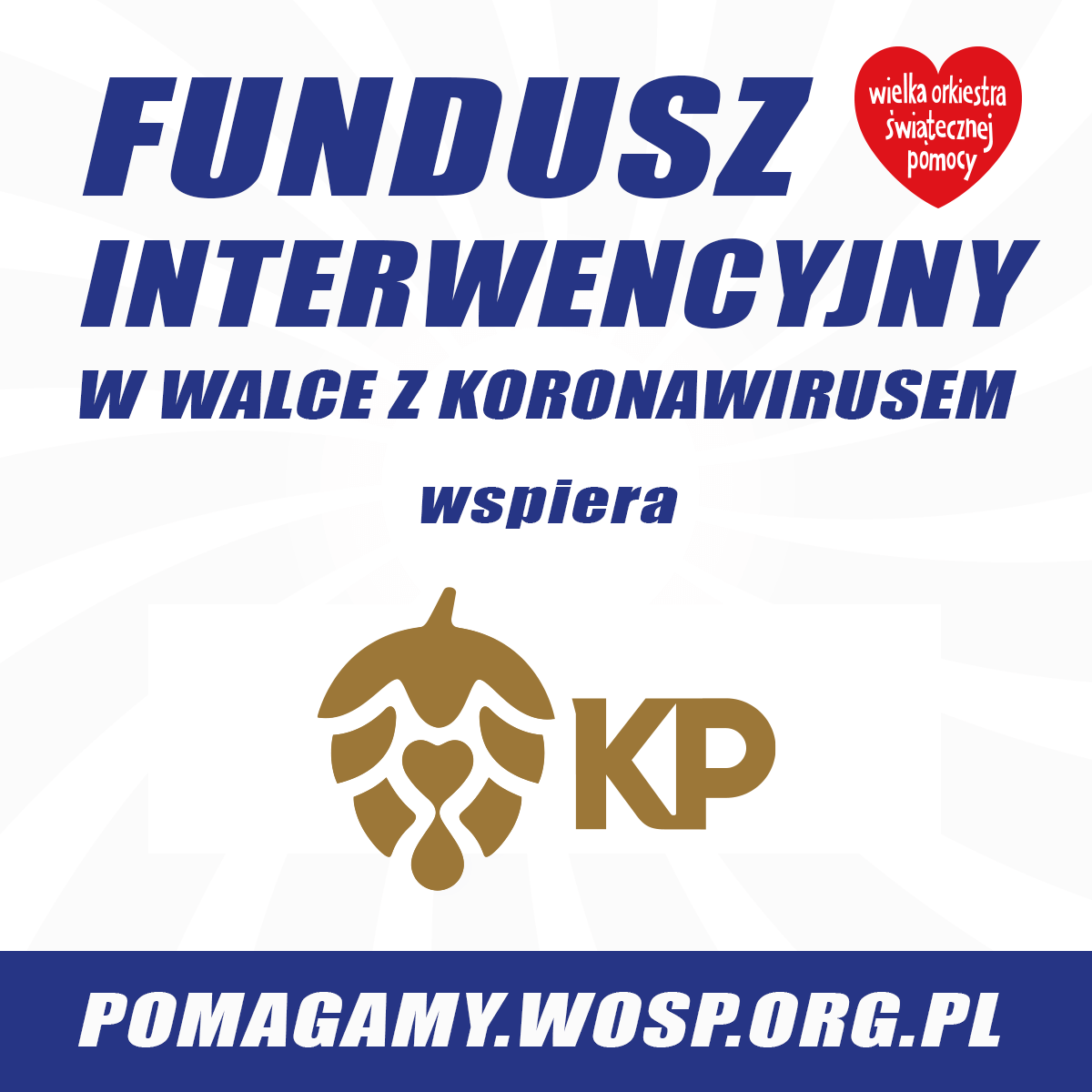 "A big heart for others? It is ""small beer"" for them. The employees of Kompania Piwowarska help those most in need during the pandemic"