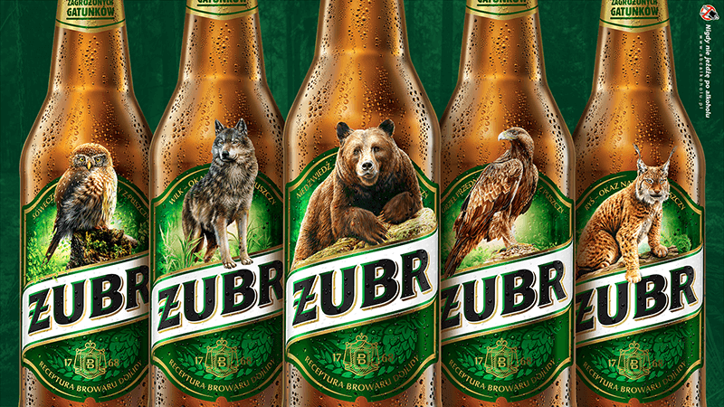 Żubr returns with the mission to safe endangered species