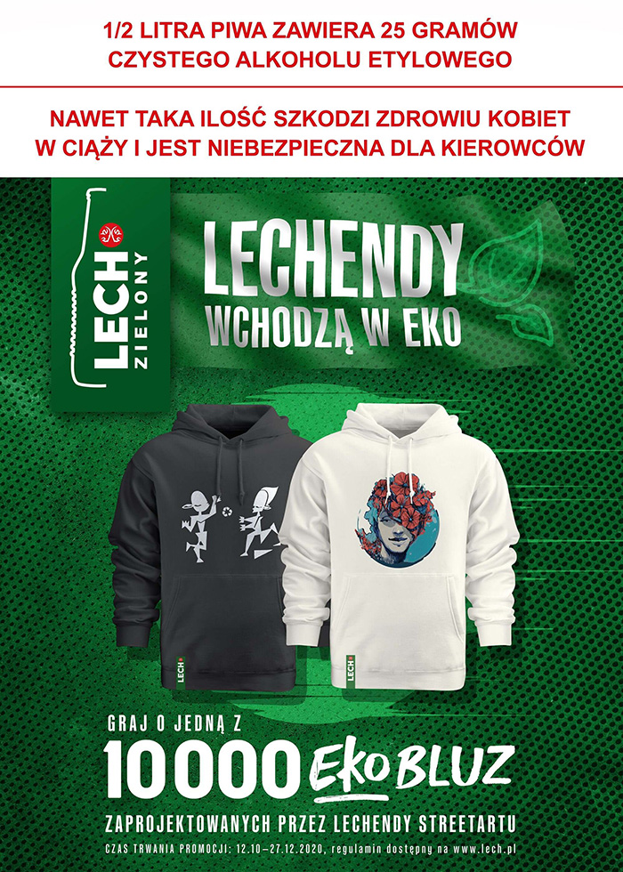 LECHENDY ARE GETTING MORE ECO! LAUNCH OF LECH'S NEW CONSUMER CAMPAIGN