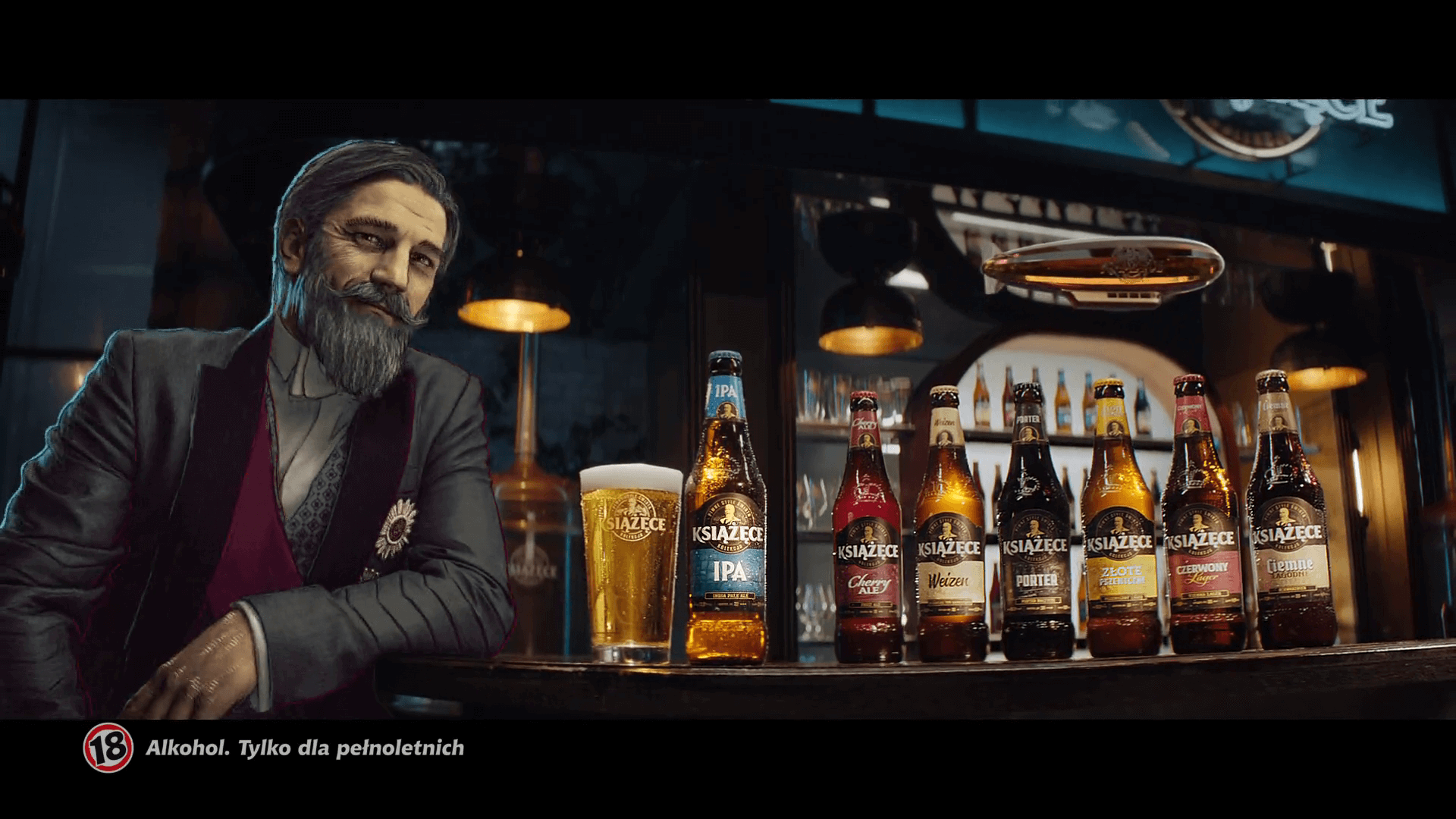 Książęce with the Prince playing the lead role The brand launches a new campaign